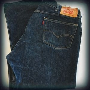 Levi's 501 Button Fly Jeans 46x30